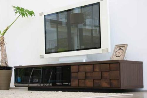 モダンスタイルのテレビ台