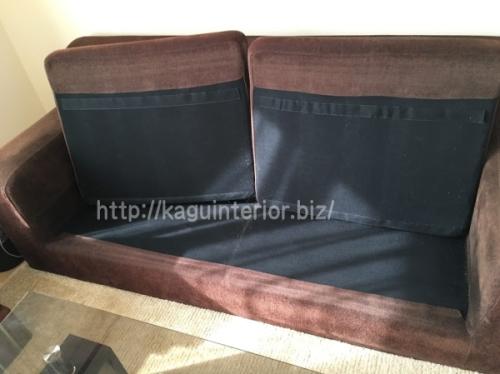 アルモニアのソファの座面部分
