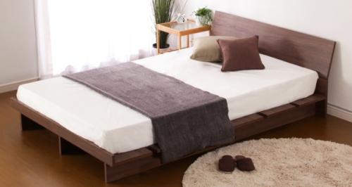 オシャレな収納ベッド