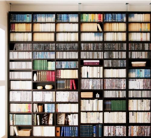 大容量タイプの本棚