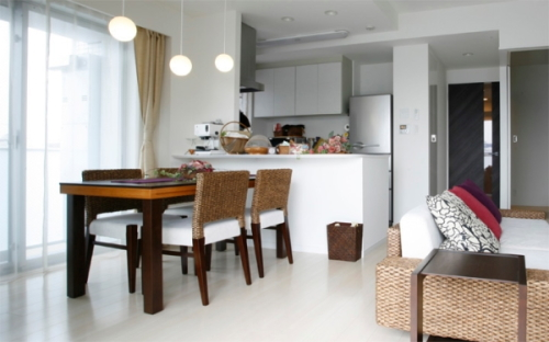 アジアンスタイルの家具選び