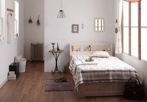 コンパクトサイズのベッド
