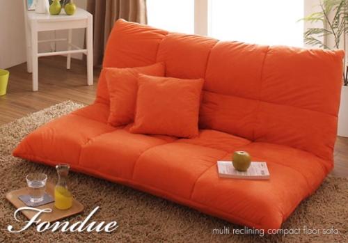 床べたタイプのソファ