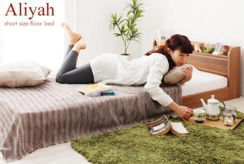 一人暮らしの女性におすすめのコンパクトサイズのベッド