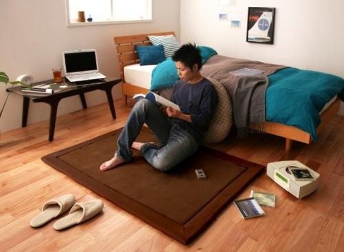 モテ部屋の家具