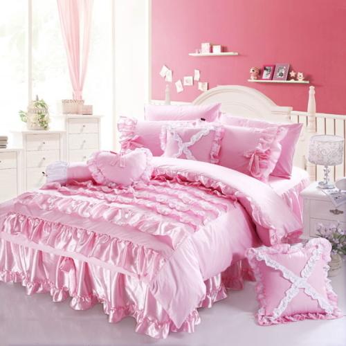 かわいい姫系のおすすめの人気ベッドカバーリングセット