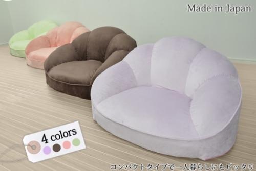 コンパクトサイズのソファ