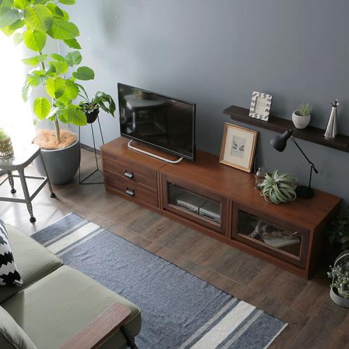 ロウヤ完成品のテレビ台