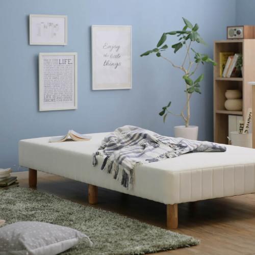 ロウヤの脚付きマットレスベッド