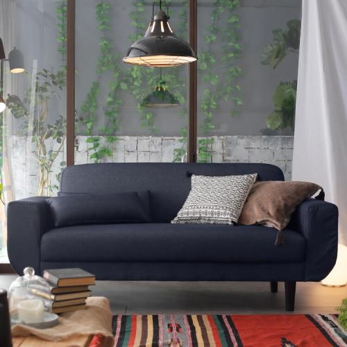 ロウヤのソファ天然木脚